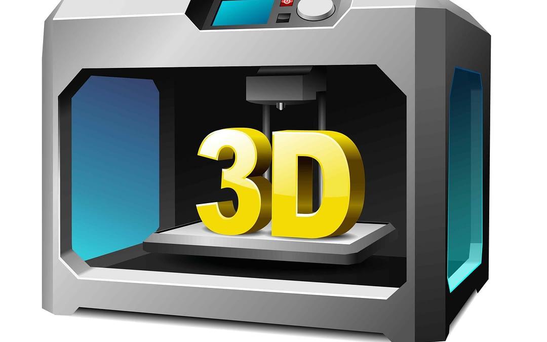 3D Printer printed out a Physical interpretation of 3D