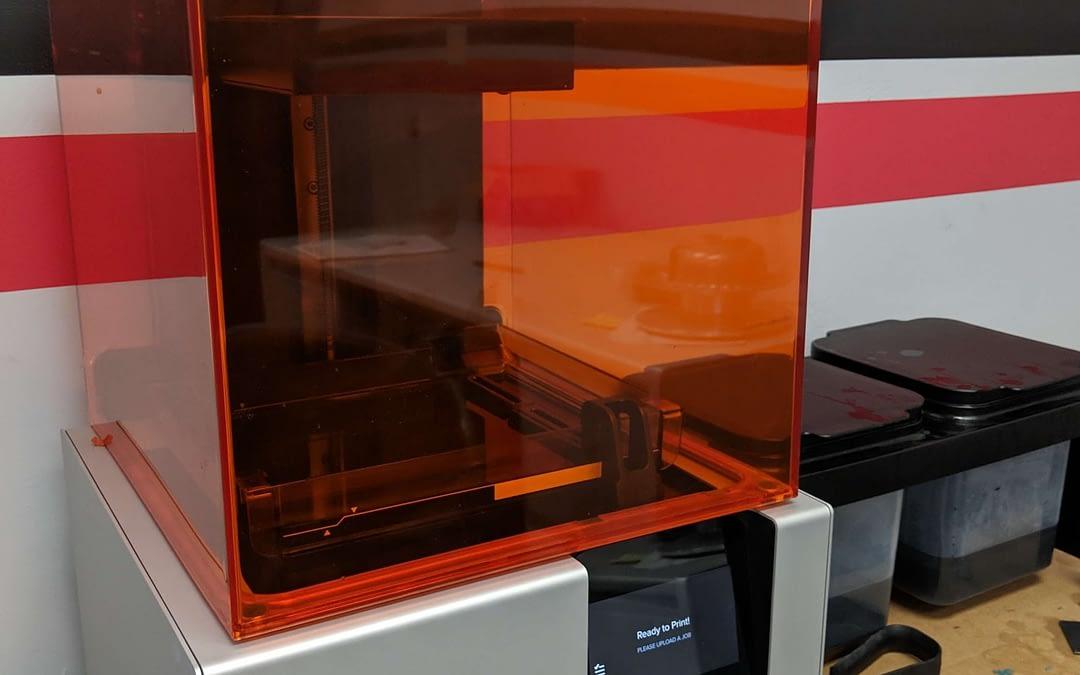 Resin printer
